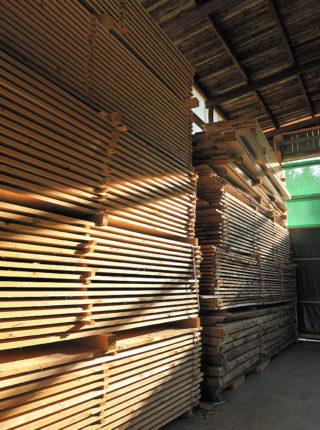 Stock bois Scierie Chaumontet