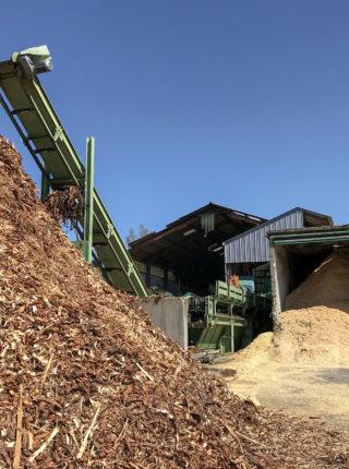 Valorisation déchets Scierie Chaumontet